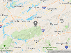 Location of smoky-mountain-premier-rv-resort