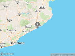 Location of camping-blanes