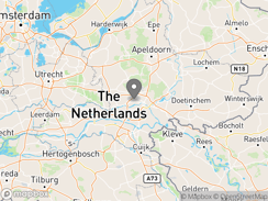 Location of Camping Aan Veluwe