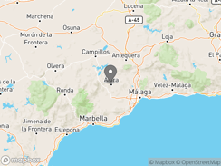Location of Hidden Valley Andalucia