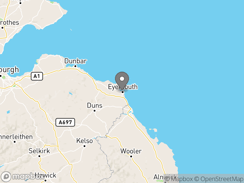 Location of Eyemouth Holiday Park