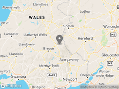 Location of Wye Glamping