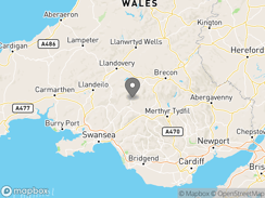 Location of eco_camping_wales