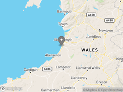 Location of Morfa Bychan Holiday Park