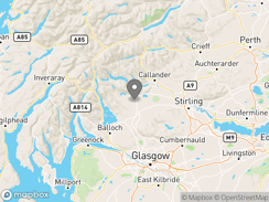 Location of Cobleland Caravan & Camping Site