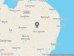 Location of old_buckenham_country_park