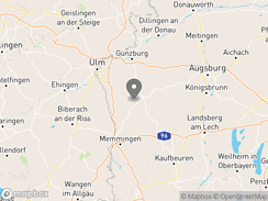 Location of see-camping-gunztal