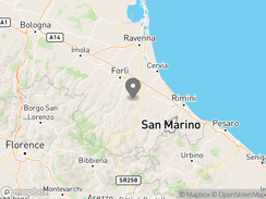 Location of Agriturismo La Stadera