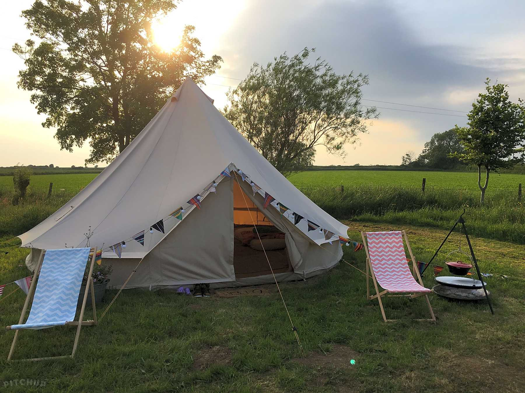 Moor View Luxury Canvas Camping, Priddy Oppdaterte priser