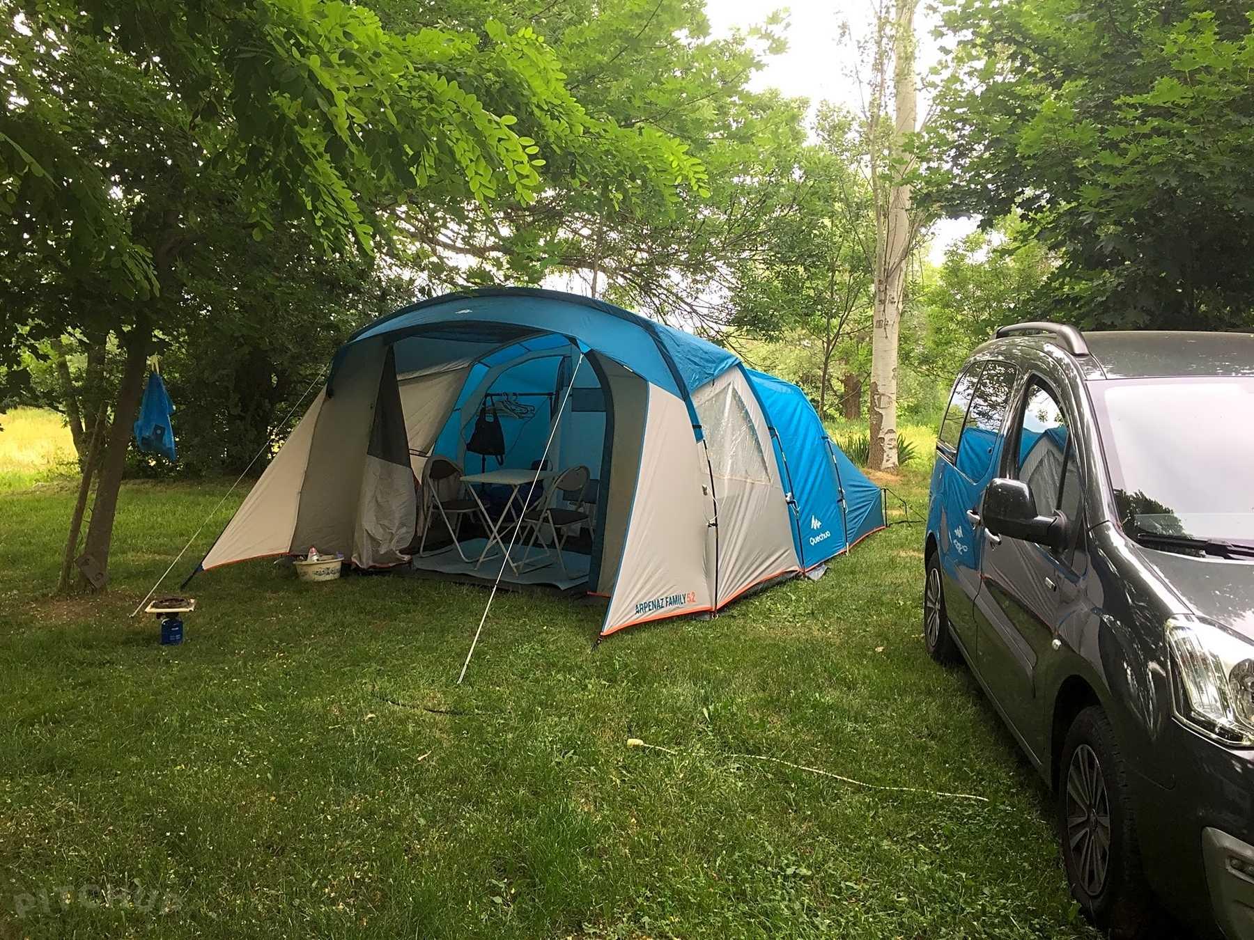 camping du lac a lac matemale tente