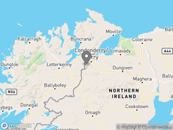 Location of Foyle Valley Motorhome And Caravan Park