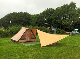Pitch your tent and relax