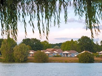 Lodges by the lake