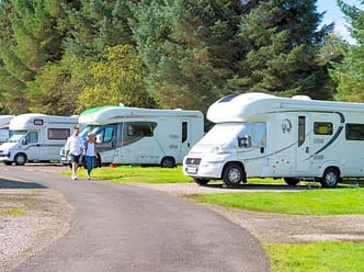 Lomond Woods Holiday Park | Touring Caravan Pitches