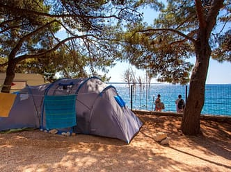 Spacious camping pitches near the beach