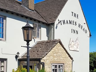 The Thames Head Inn, between Cirencester and Tetbury