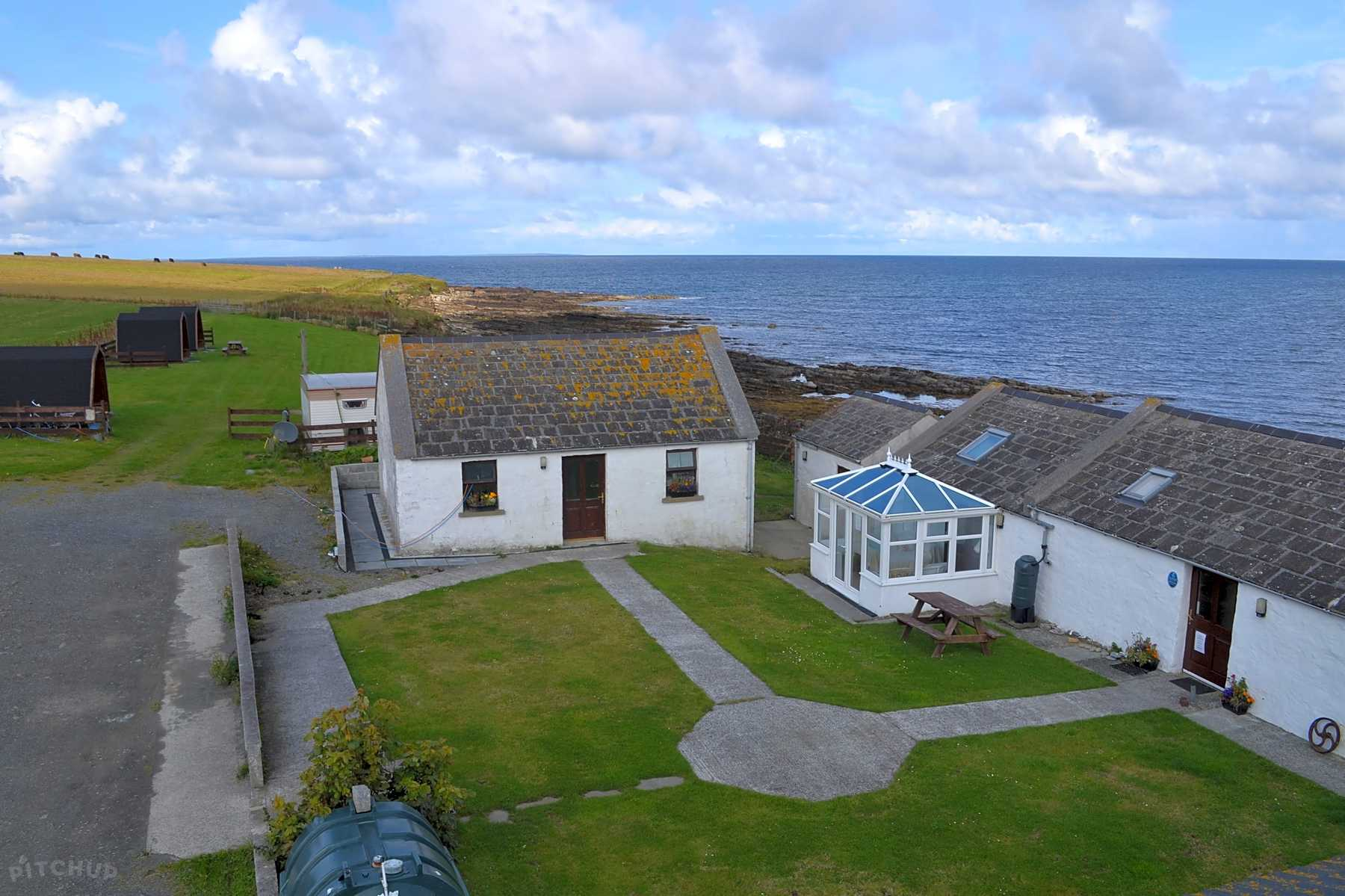 Ayre's Rock Hostel and Camp Site, Isle Of Sanday - Pitchup®