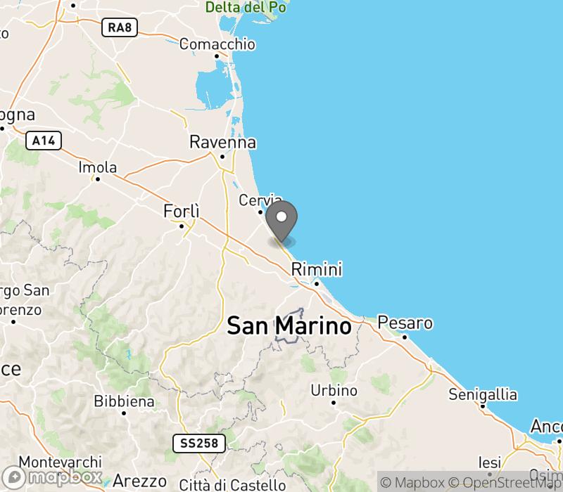 Forli Italy Map.Villaggio Camping Delle Rose Cesenatico Italy Instant Booking