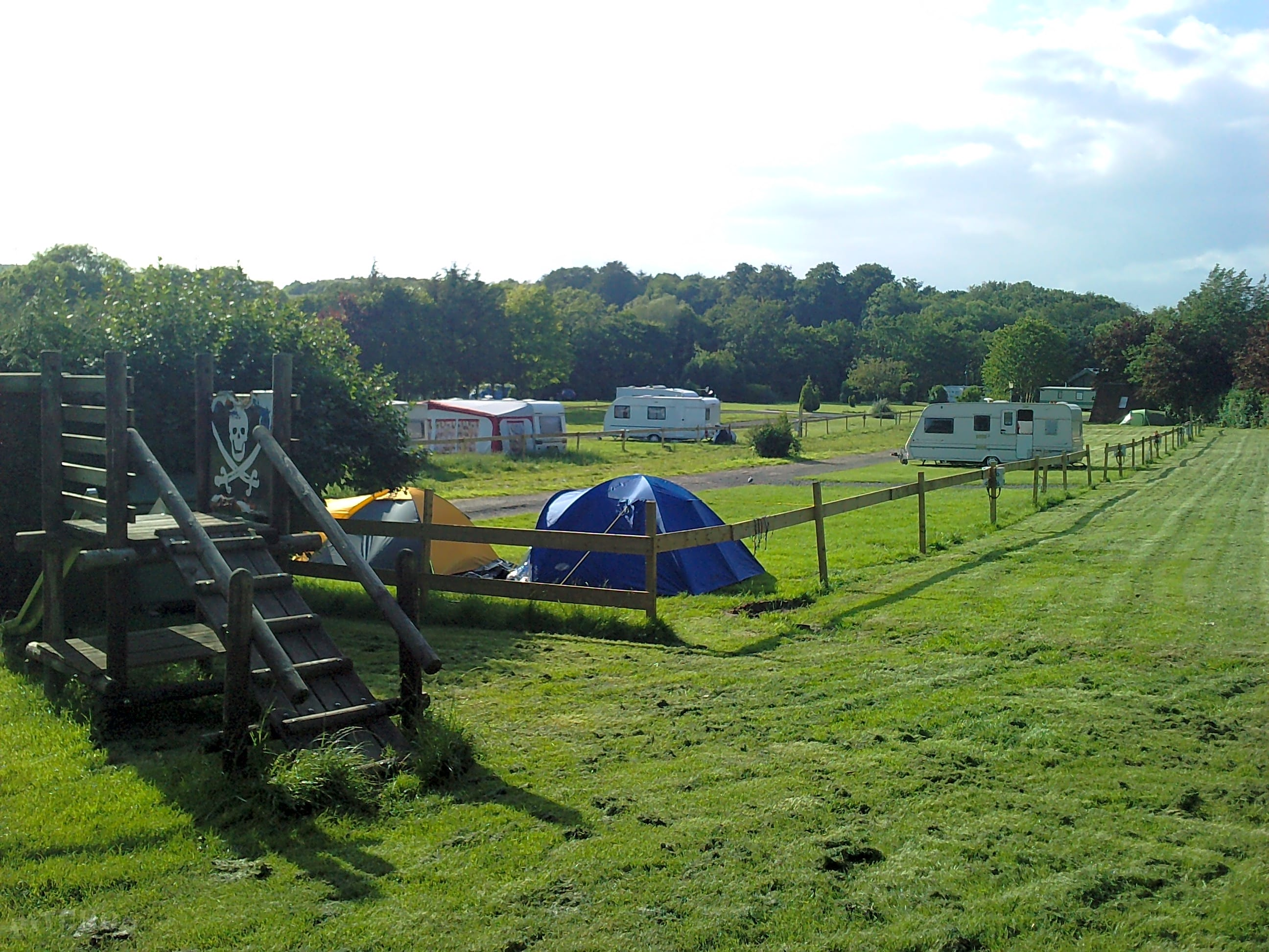 Budle Bay Camp and Caravan Site, Belford - Pitchup®