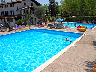 Adults' and kids' pools