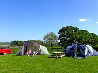Lots of space for small and large tents