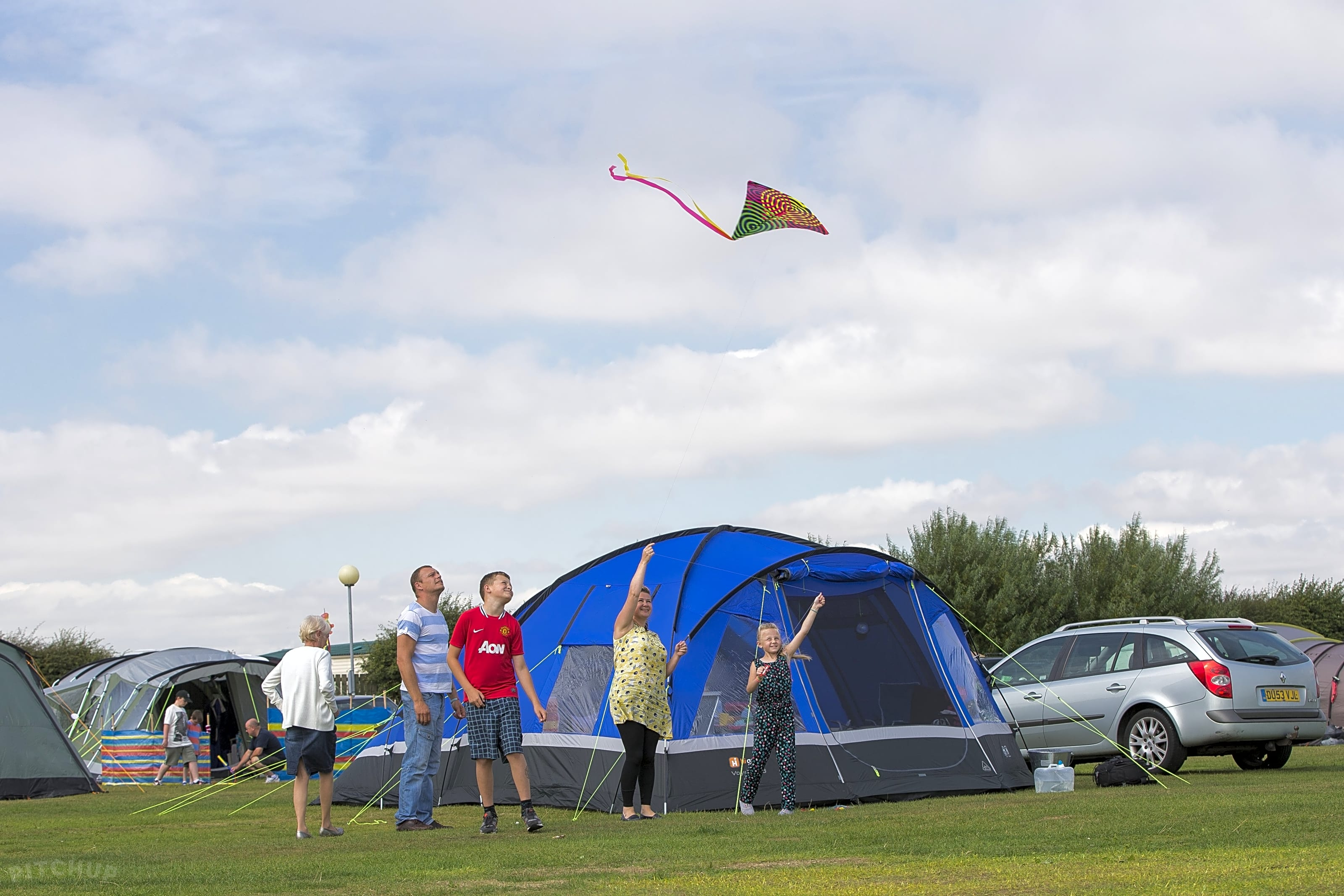 Tent Camping Sites in Portsmouth