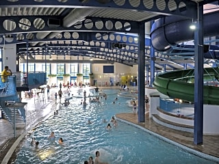 The Oasis indoor fun pool (a small charge applies)