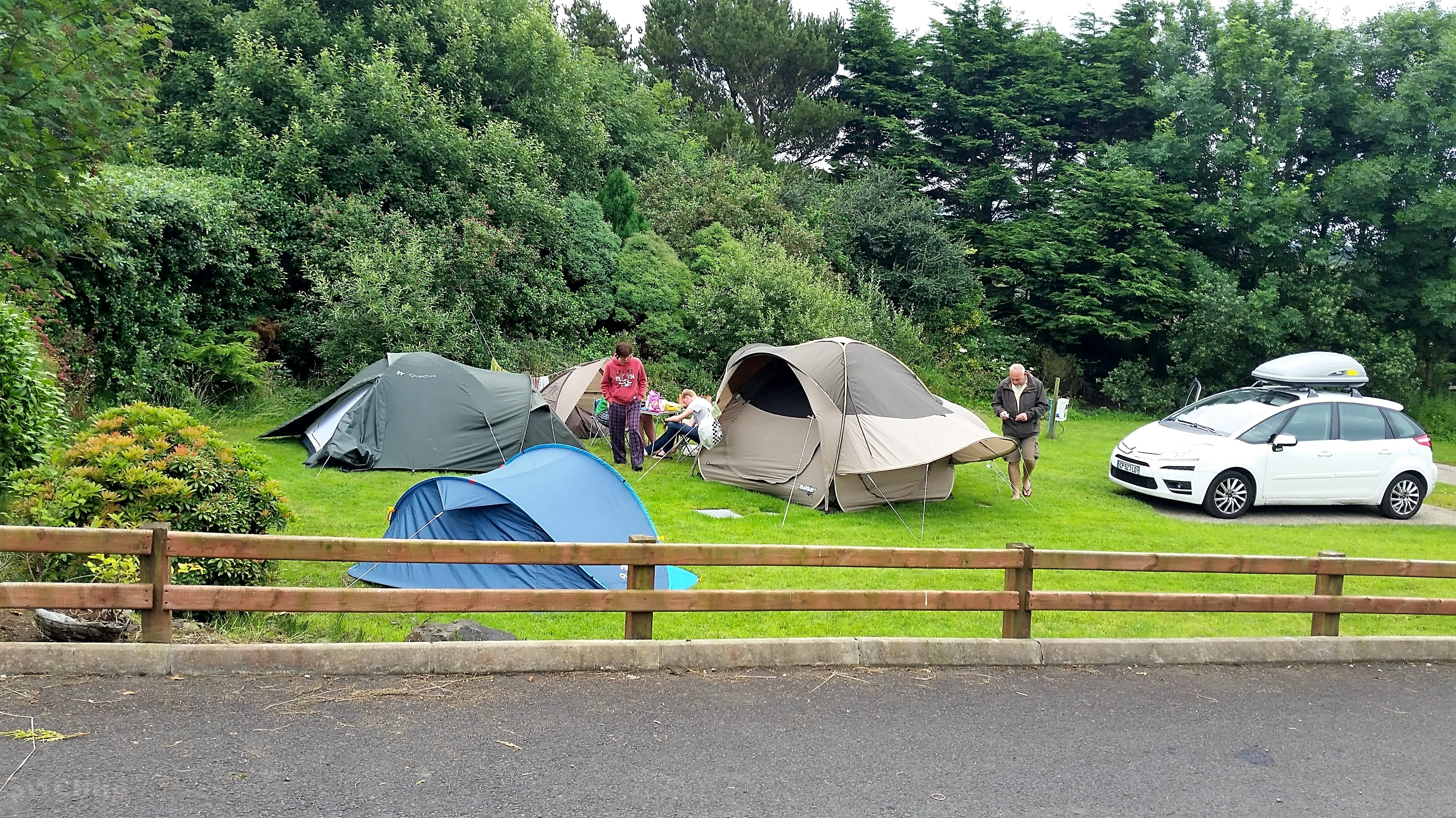 best place to pitch a tent argyll