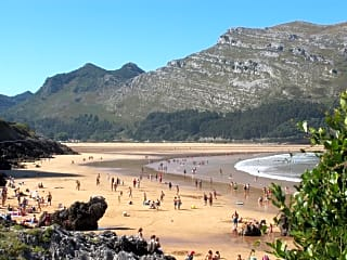 Arenillas beach - only 100 metres away from the campsite