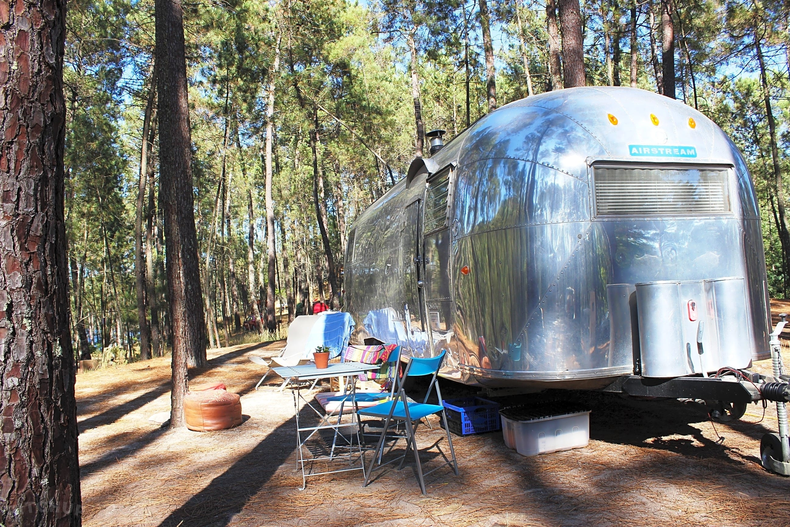 Airstream wateraansluiting