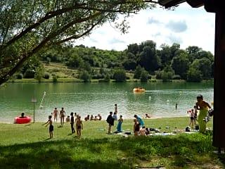 Swim in the lake