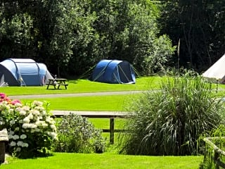 Our beautiful riverside pitches