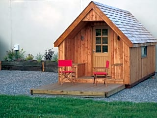 Our cosy cabins are fully equipped: just pack your bag and get ready to relax