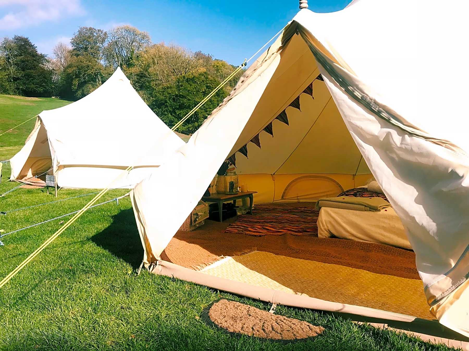 Book yurt, tipi, bell tent and dome sites in Barnstaple