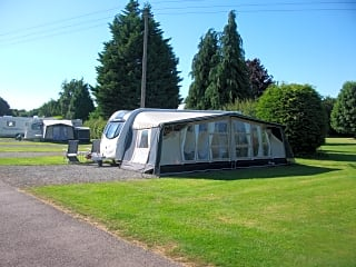 Hardstanding touring pitch