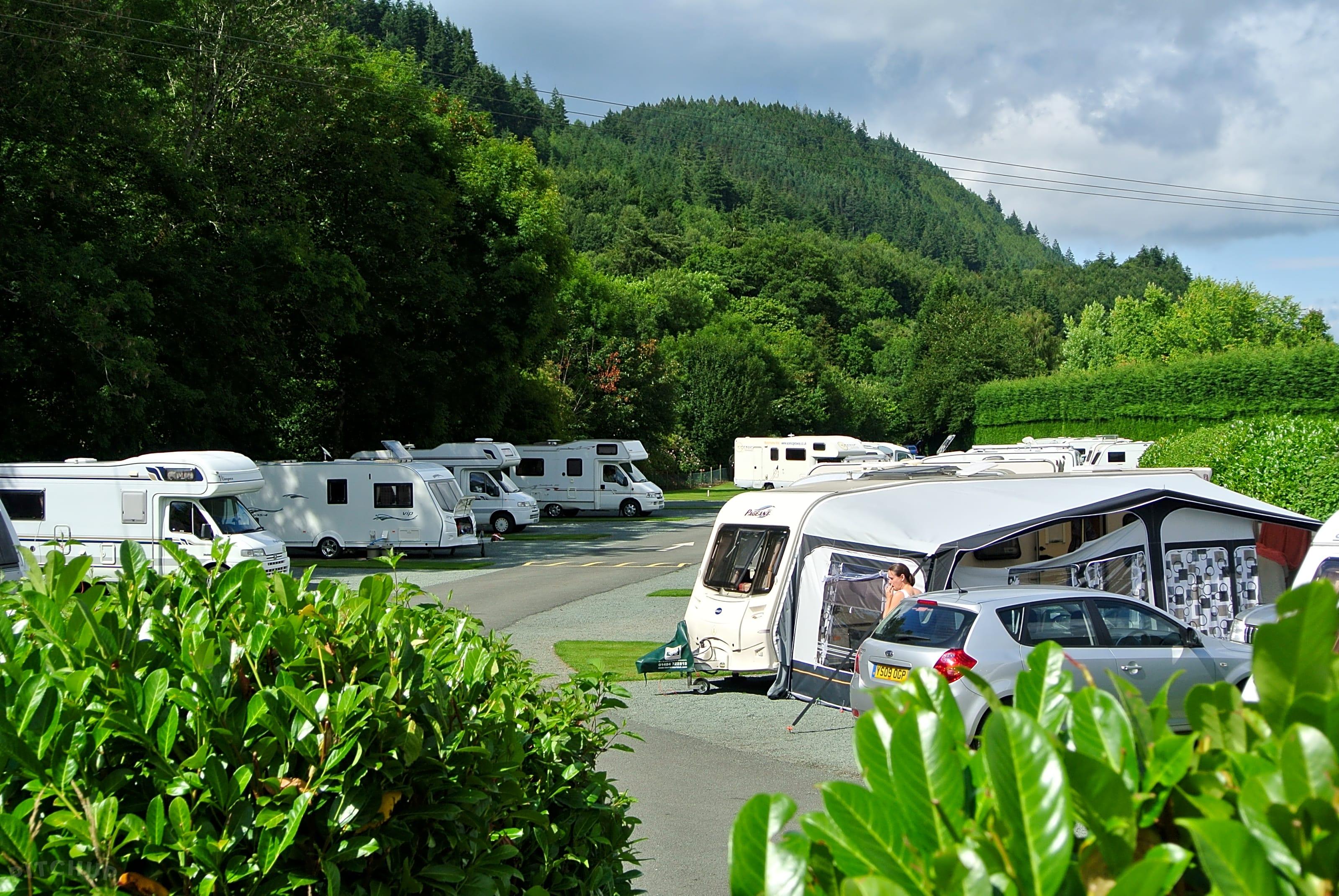 Riverside Caravan and Camping Park, Betws Y Coed - Pitchup®