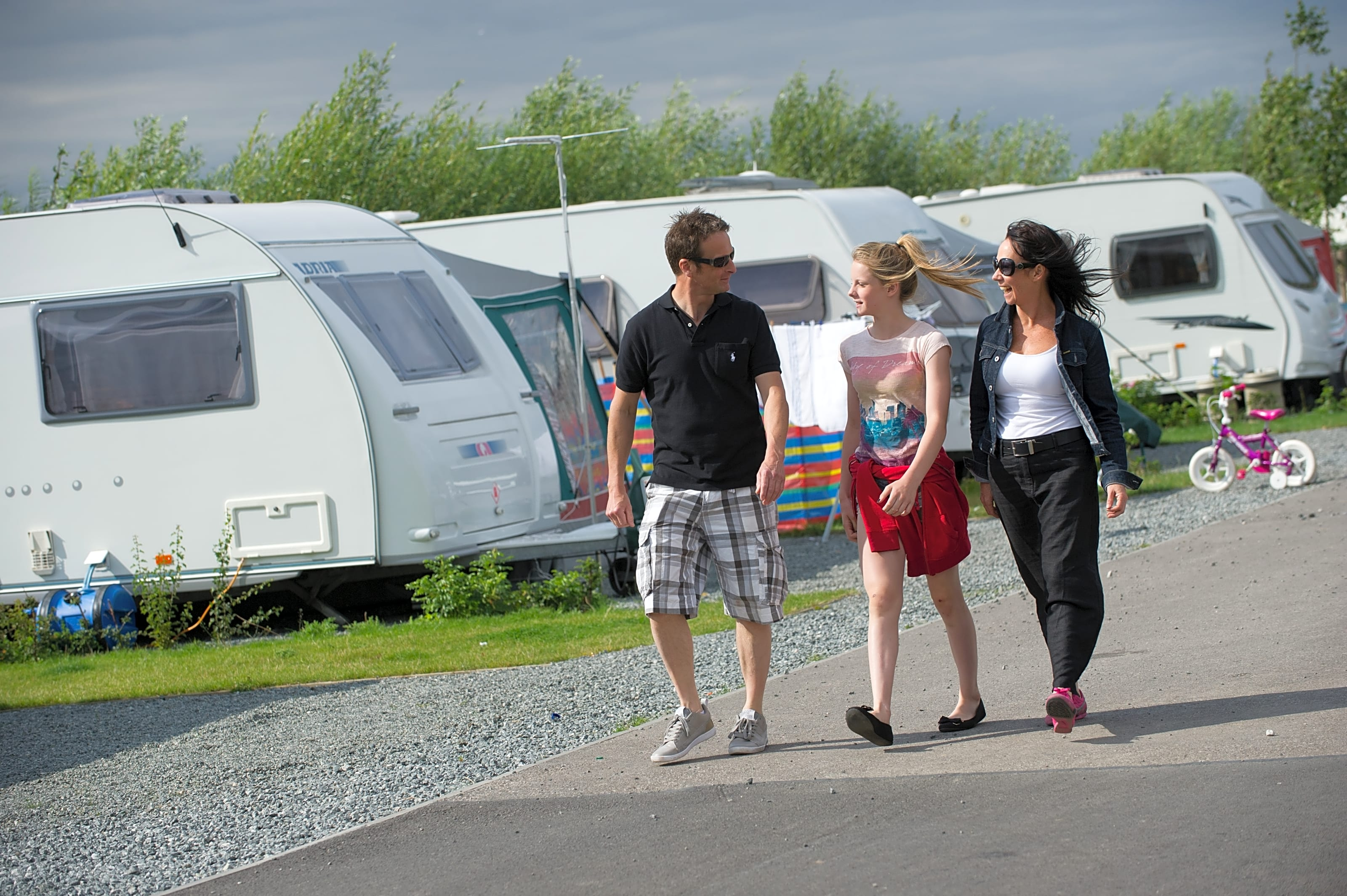 Touring pitches on site