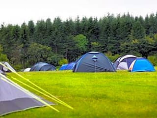 Tents at Braceland
