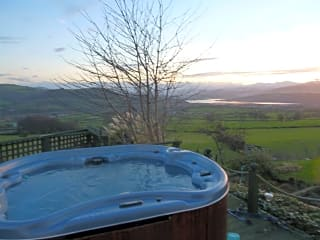 Our hot tub is the ideal spot to relax at the end of the day
