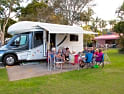 Campsites and holiday parks in Australia