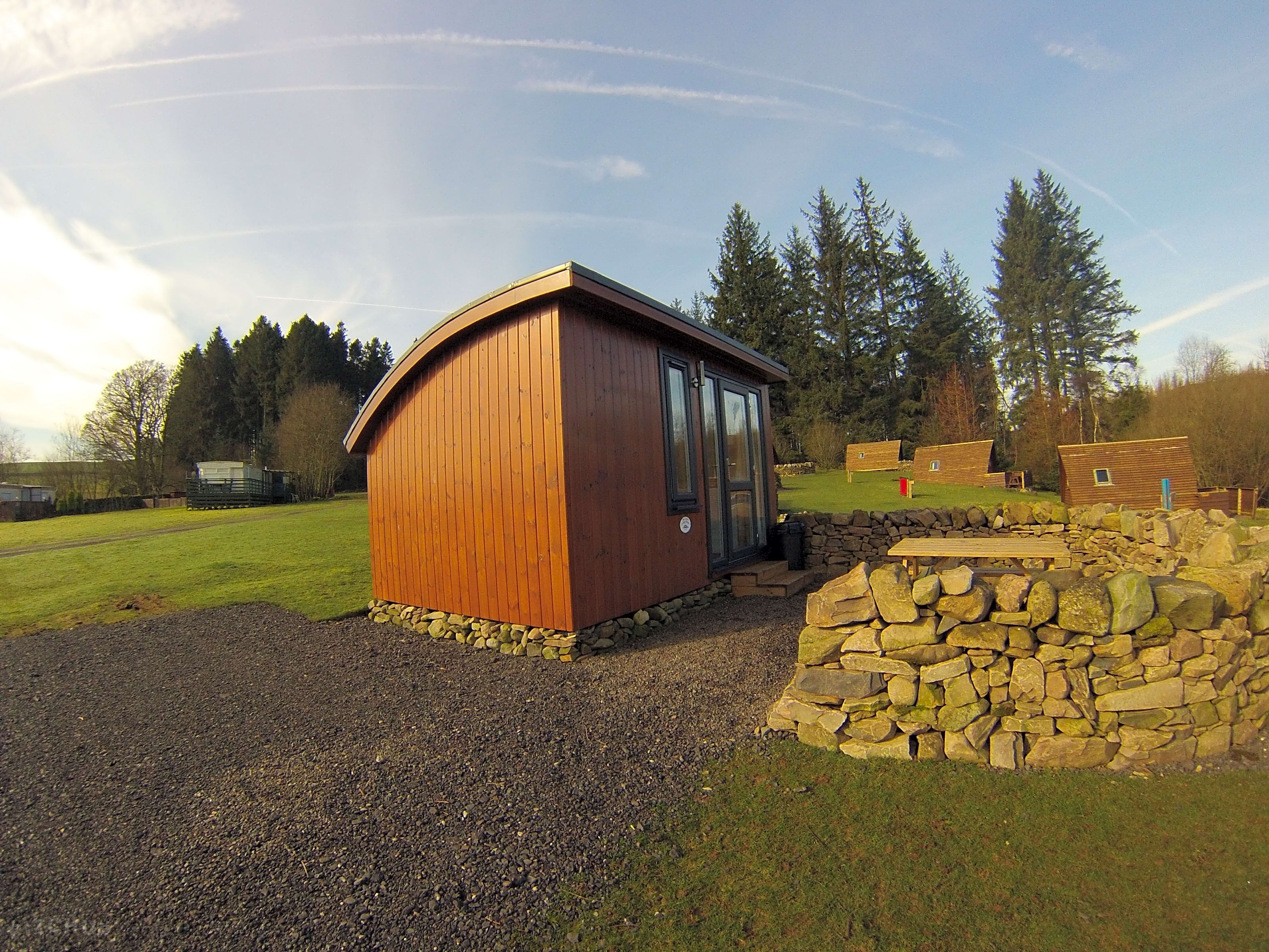 Barnsoul caravan park dumfries pitchup - Swimming pools in dumfries and galloway ...