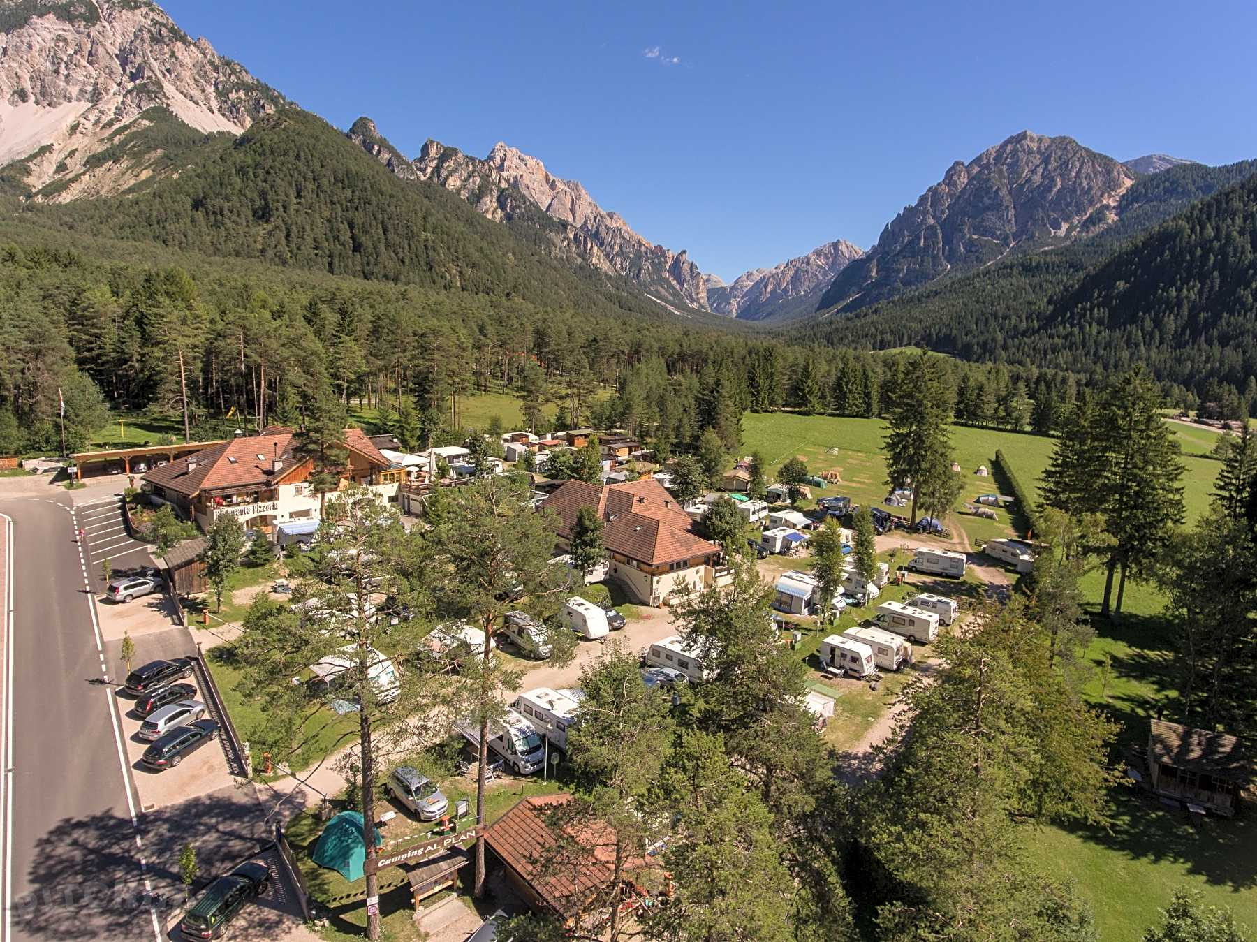 Tent Camping Sites in Bolzano