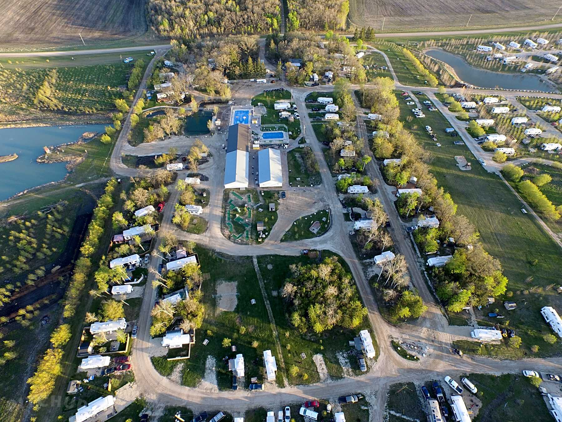 Electric site | Best Campgrounds in Manitoba, Canada 2019