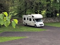 Hardstanding motorhome pitch