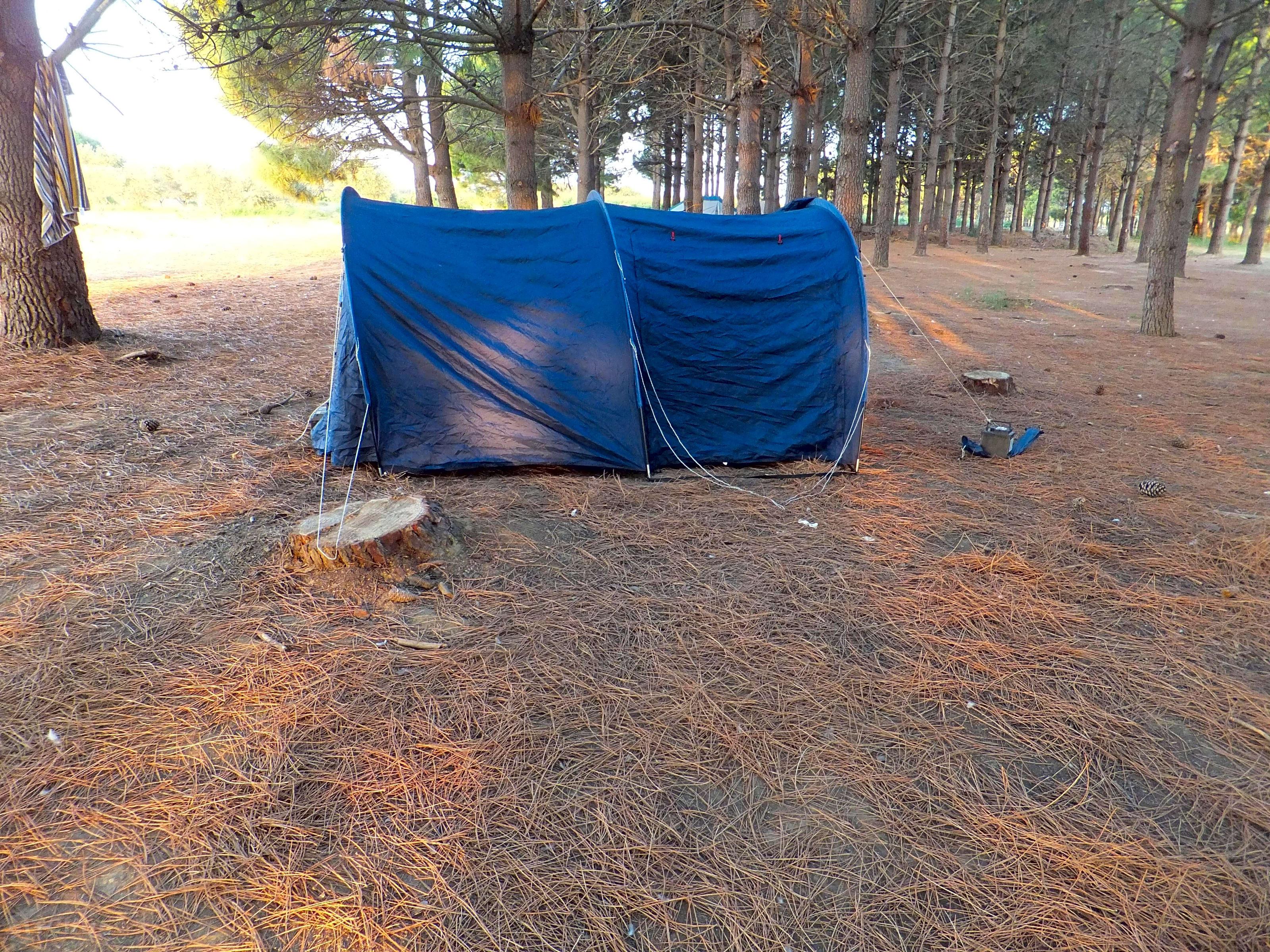 camping avec emplacement tente cotes argeles