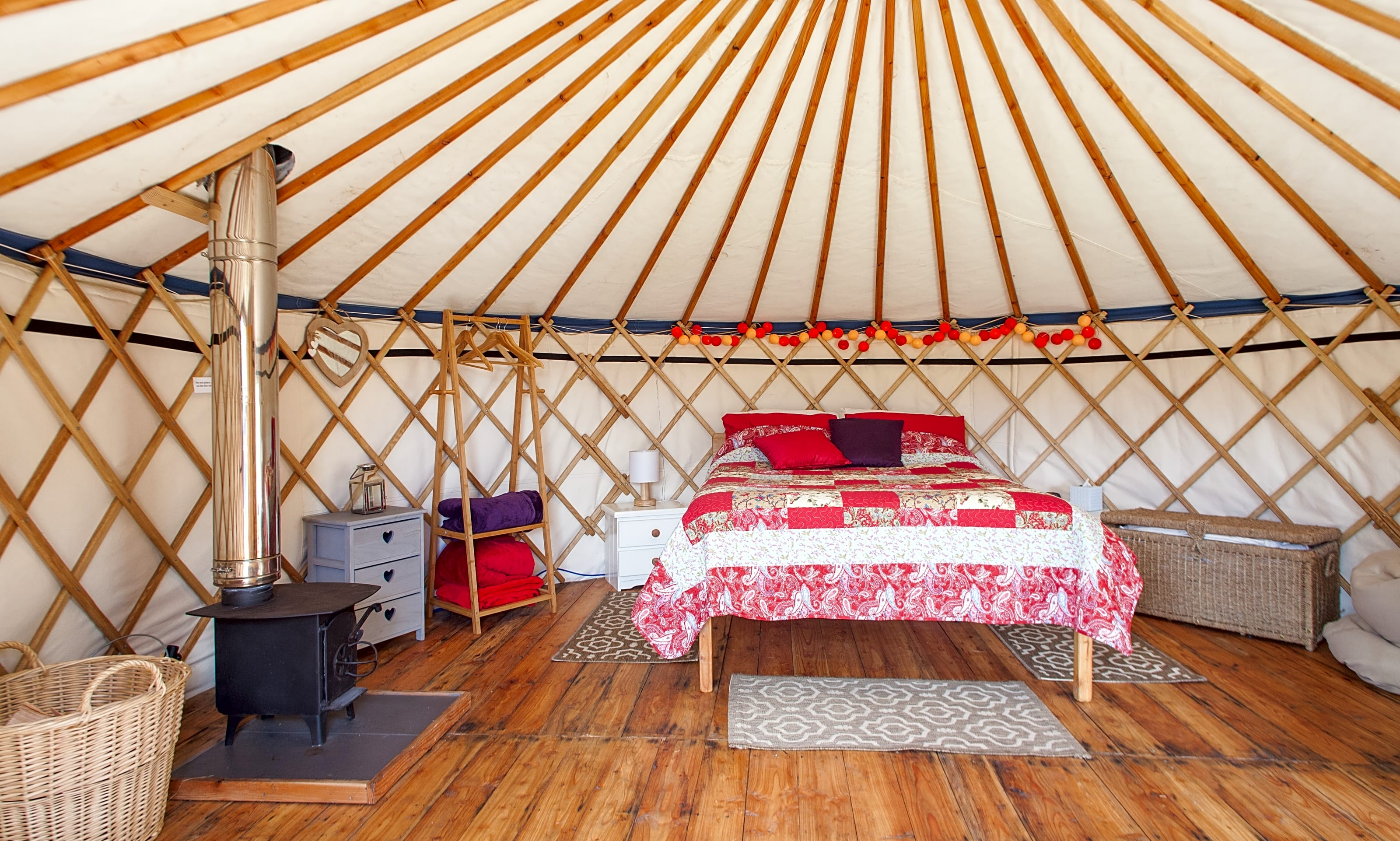 Fron Farm Yurt Retreat, Whitland, -, Updated 2019 prices, - Pitchup®