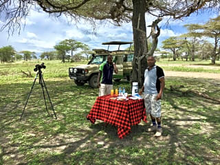 Outings and picnics in the reserve