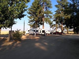 Front area of the campground