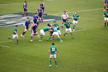 Ireland V France in the 2014 Six Nations
