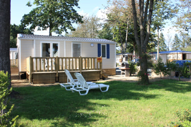 Holiday home at Camping Port de Plaisance, Brittany